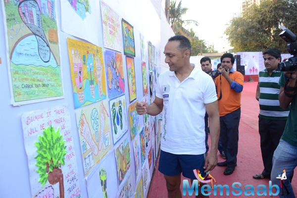 Rahul Bose Attend The 4.5 Kms Runathon Event Organised By Reliance Energy