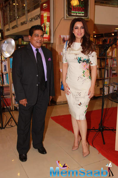 Tisca Chopra Spotted At Dr Mohan Thomas Book Picture Perfect Launch Event