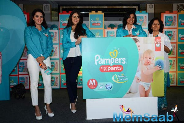 Genelia D'Souza Launched The Pampers Press Meet