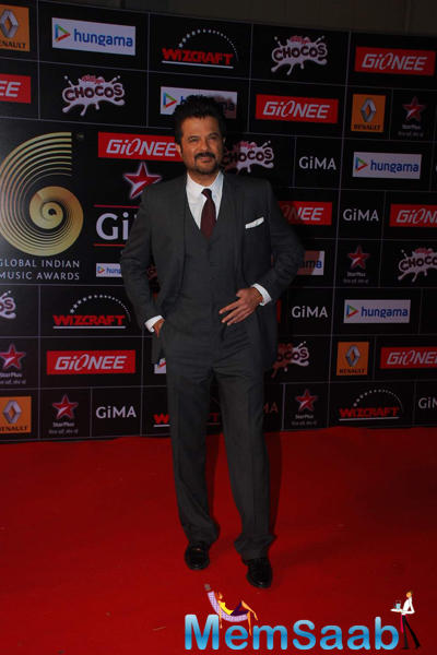 Anil Kapoor Looked Dapper In A Well-Cut Grey Suit As He Posed For The Shutterbugs
