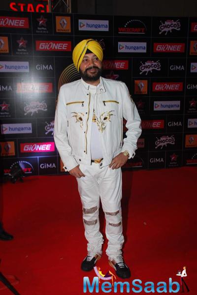 Daler Mehndi Attend The GiMA 2015 Awards
