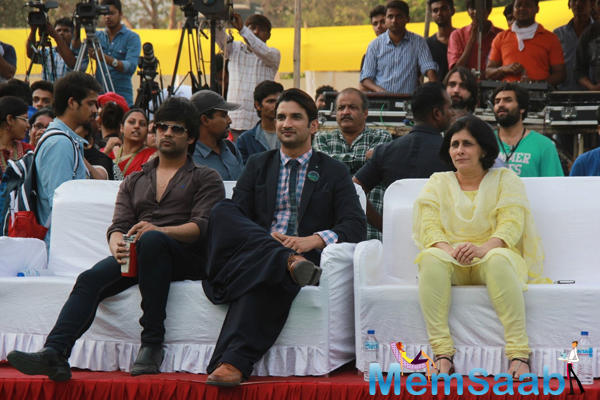 Sushant Singh Rajput Attends A College Fashion Show