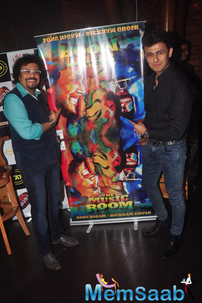 Bickram Ghosh And Sonu Nigam Launched Bickram Ghosh Album