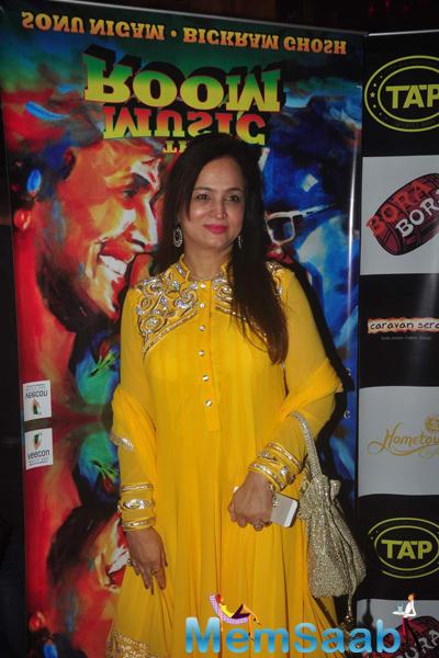 Smita Thackeray Dazzled At The Launch Of Bickram Ghosh Album