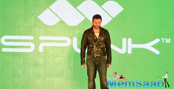 Saif Ali Khan Walks The Ramp At A Footwear Launch