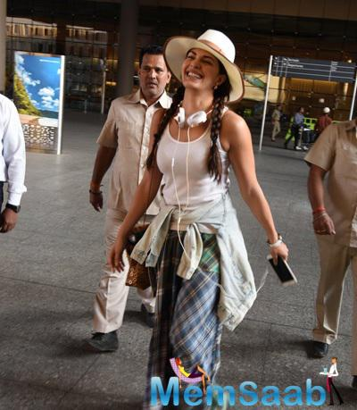 Jacqueline Fernandez  Back In Mumbai Clearhead  And Happy Soul