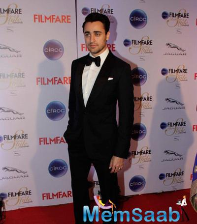 Imran Khan Dappers Look At The Ciroc Filmfare Glamour And Style Awards 2015