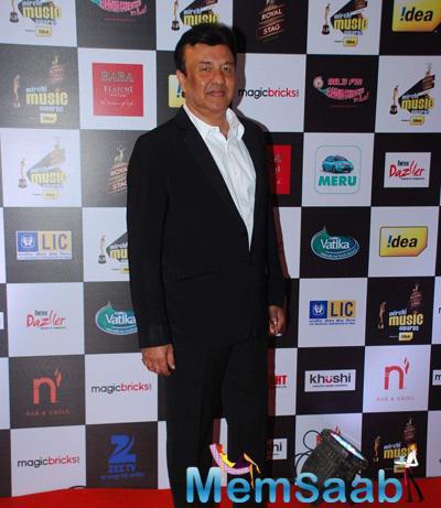 Anu Malik Attend At The 7th Mirchi Music Awards 2015