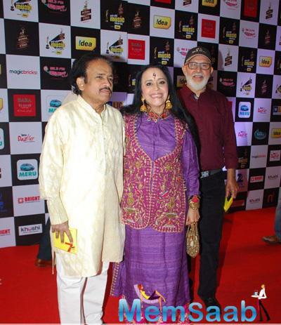 Ila Arun Present At The 7th Mirchi Music Awards 2015