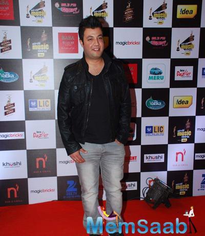 Varun Sharma Smiling Look At The 7th Mirchi Music Awards 2015