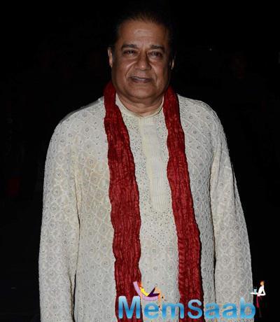 Anup Jalota Present At Tulsi Kumar And Hitesh Wedding Reception