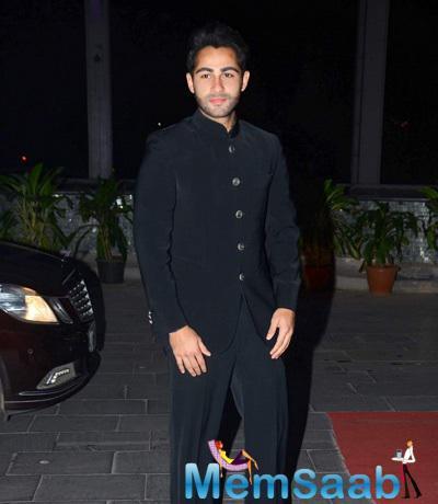 Armaan Jain Clicked At Tulsi Kumar And Hitesh Wedding Reception