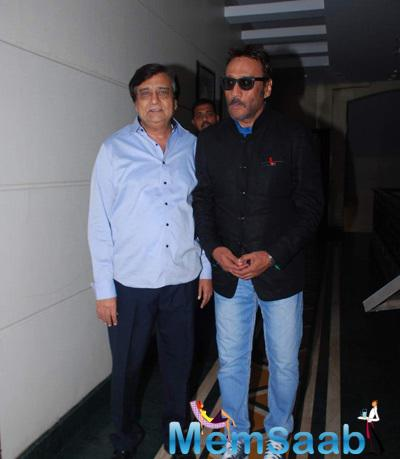 Actor Jackie Shroff Was Recently Present At The Press Meet Of His Upcoming Film Dirty