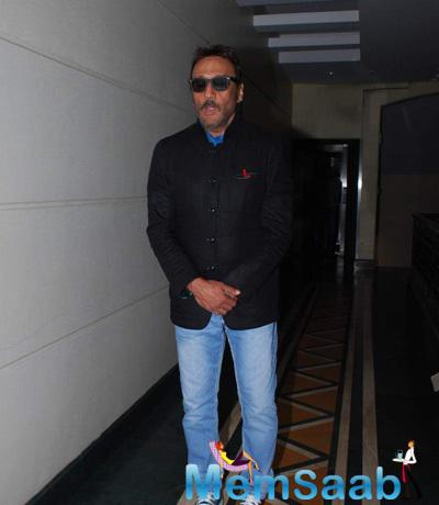Jackie Shroff At Dirty Politics Press Meet At Raheja Classic In Mumbai