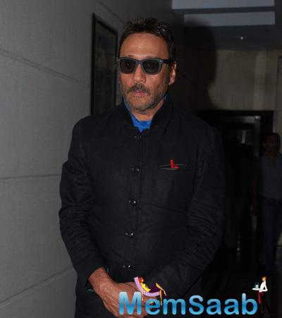 Jackie Shroff Promotes Dirty Politics At A Press Meet. K. C. Bokadia