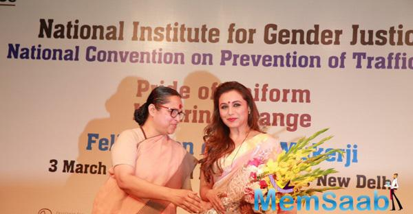 Bollywood Actress Rani Mukerji Was Honoured With A National Award For Her