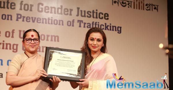 Rani Mukerji Honoured And Humbled To Receive National Award
