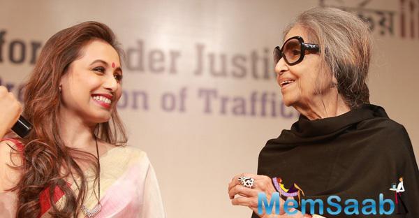 Rani Mukerji On Receiving National Award