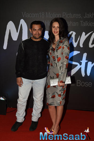 Aamir Khan Launches The Trailer Of Margarita With A Straw