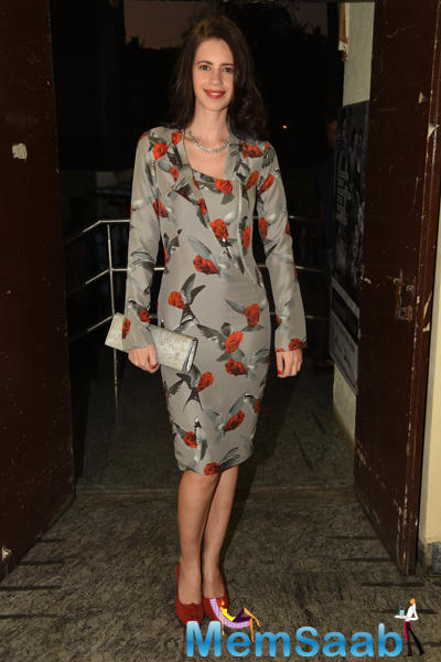 Kalki Koechlin Spotted At Margarita, With A Straw First Look