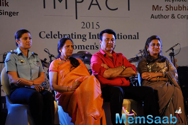 Anu Malik Attend The IMC Ladies Wing Event
