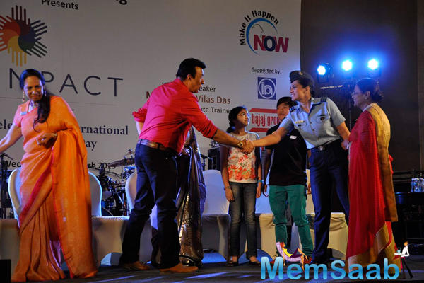 Anu Malik Welcomed At IMC Ladies Wing Event