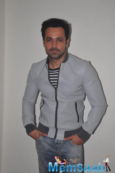 Emraan Hashmi Dashing Look During The Launch Of Mr. X First Look