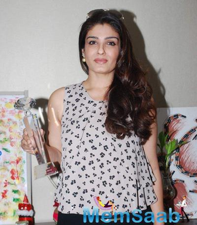 Raveena Tandon Launch Young Environmentalists Trust Women Achievers Awards