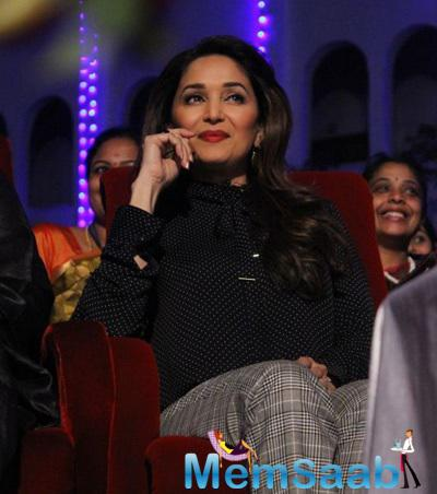 Madhuri Dixit Enjoy International Women's Day By Sathyabama University