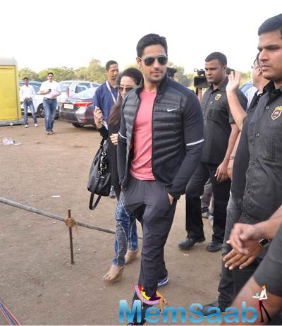 Sidharth Malhotra Attend The DNA Race 2015