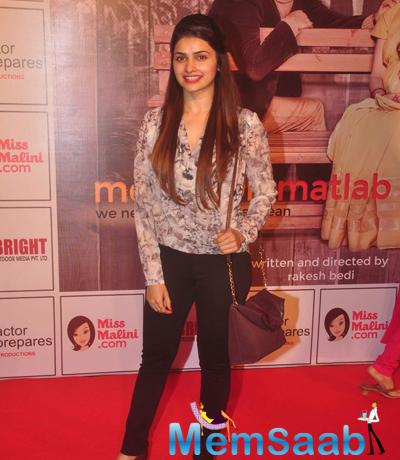 Prachi Desai Casual Look During The Premiere Of Anupam Kher New Play Mera Who Matlab Nahi Tha