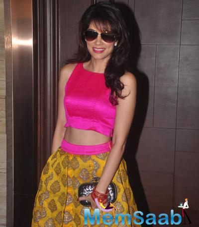 Vidya Malvade Glamour Look During The Beti Bash 2015