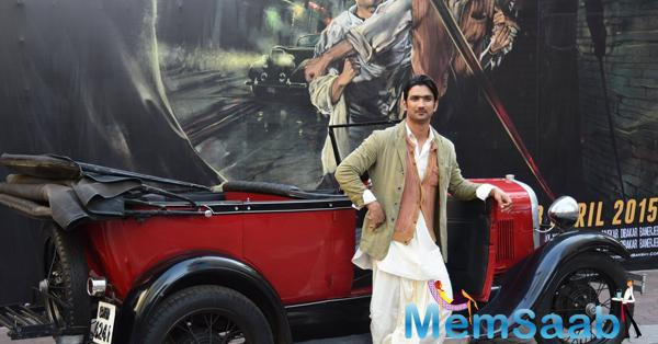 Sushant Singh Rajput Desi Look At The 2nd Trailor Launch Of Detective Byomkesh Bakshi