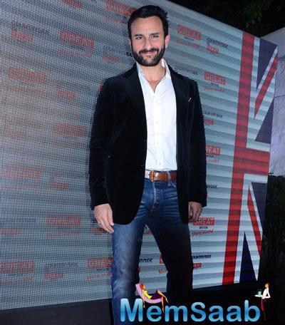 Saif Ali Khan Announced As The Brand Ambassador For Visit Britain