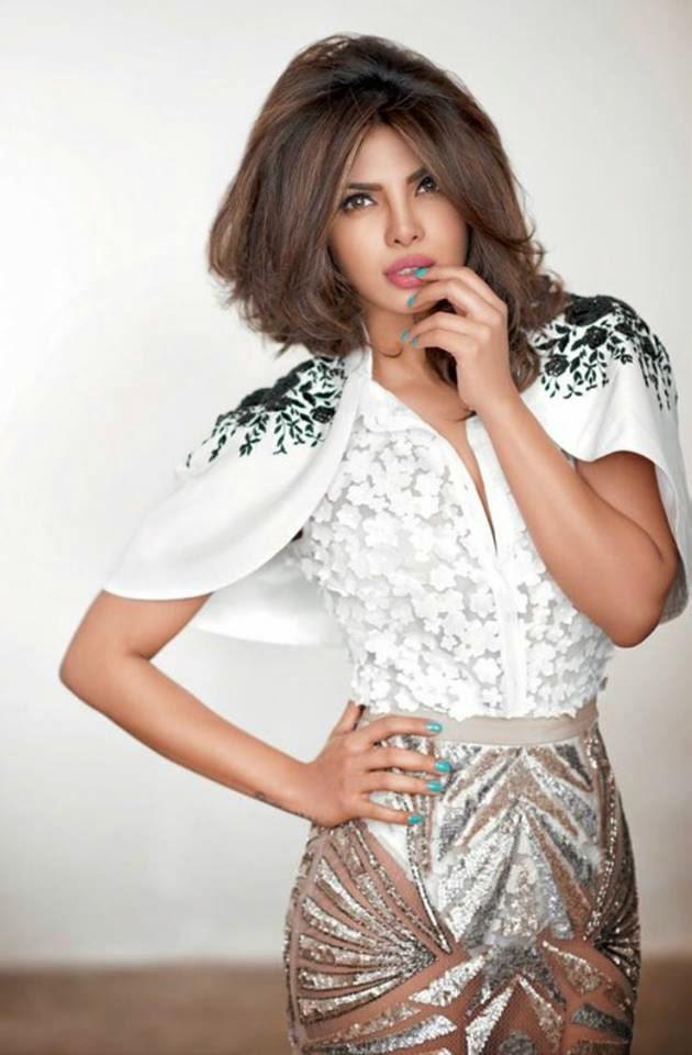 Priyanka Chopra Sizzling Look For Cosmopolitan India Magazine March 2015 Issue