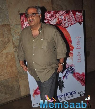 Boney Kapoor Attend The Screening Of Documentary Film In Their Shoes