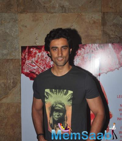 Kunal Kapoor Smiling Pose At The Screening Of Documentary Film In Their Shoes