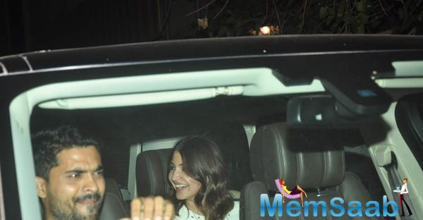 Anushka Sharma Caught A Screening Of Her First Home Production And Much Awaited Movie NH10