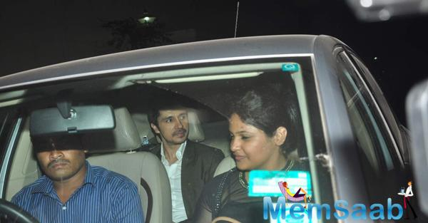 Darshan Kumaar Spotted During The Screening Of NH10