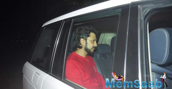 Riteish Deshmukh Clicked During The Screening Of NH10