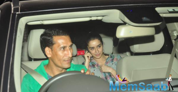 Shraddha Kapoor Attended The Screening Of Forthcoming Movie NH10