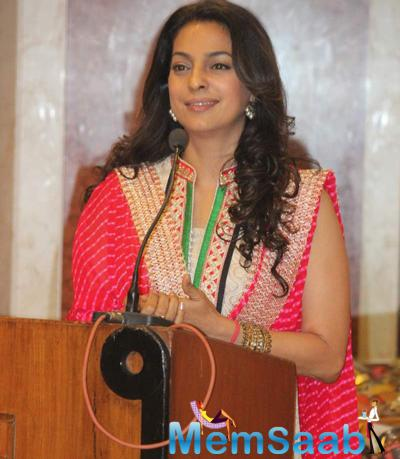 Juhi Interacting During The Inauguration Of Dialysis Centre In Dalvi Hospital