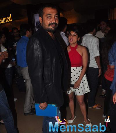 Producer Anurag Kashyap Attend NH10 Screening