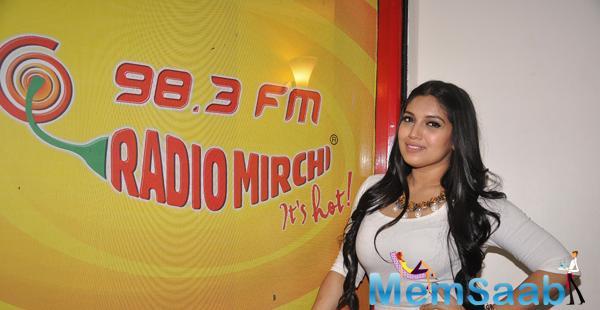 Bhumi Pednekar Cool Look During The Promotion Of Dum Laga Ke Haisha