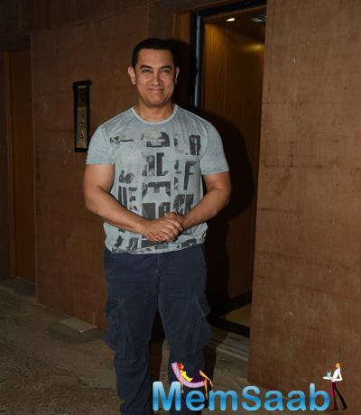 Aamir Khan Celebrates 50th Birthday With Press