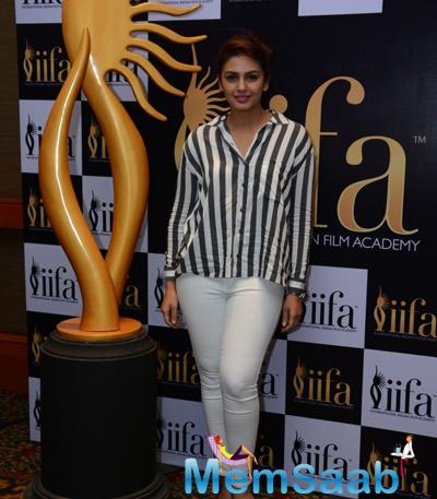 Huma Qureshi Looks Stunning During 16th IIFA Voting Weekend