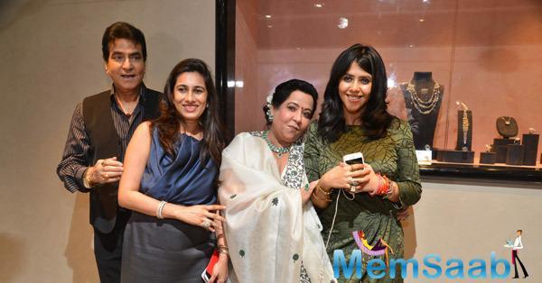 Kapoors Family At Launch Of Nirav Modi's Flagship Jewellery Store In Kala Ghoda