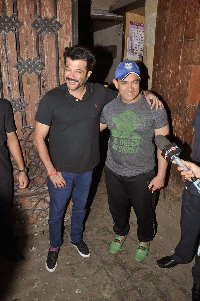 Aamir Catches Up With Good Friend Anil