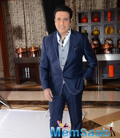 Govinda Spotted At The Launch Of ZEE TV Dance Reality Show Dance India Dance Super Moms