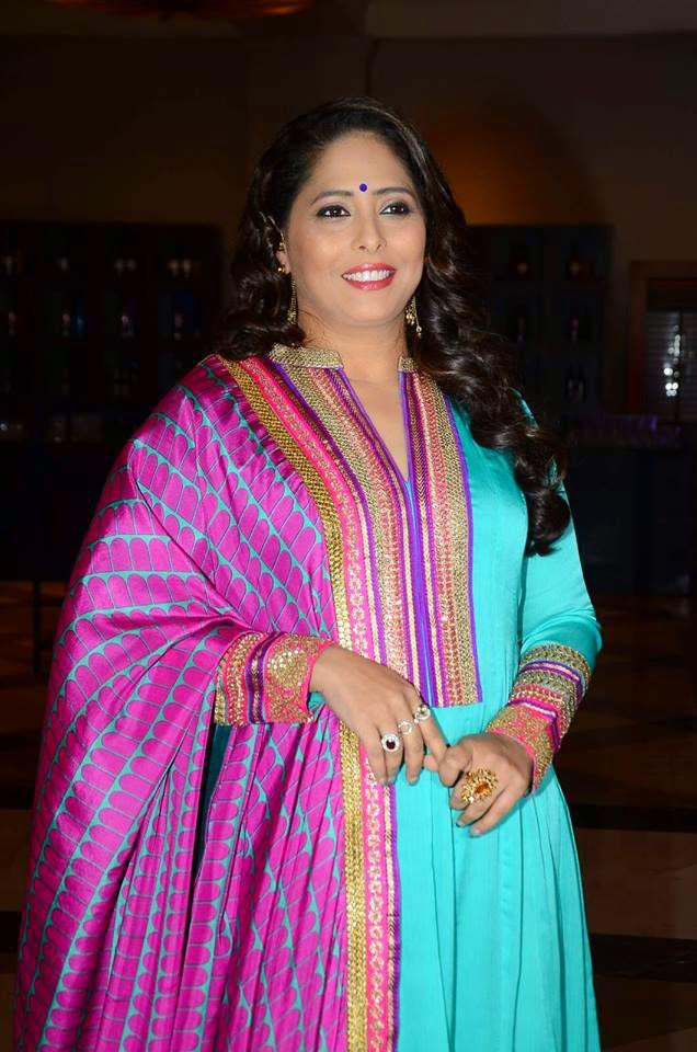 Geeta Kapoor Cool Radiant Look During The Launch Of Dance India Dance Super Moms